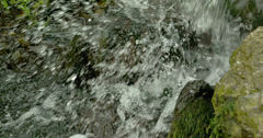 Water splashing from the lake 4k fs700 odyssey 7q Stock Footage
