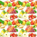 Stock Photo of seamless pattern with fruits and berries