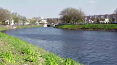 River Kharkiv - timelapse Stock Footage