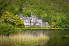Stock Photo of Kylemore Abbey in Ireland