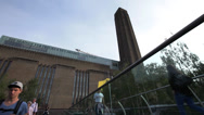 Stock Video Footage of Tate Modern London, Britain United Kingdom