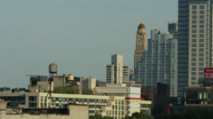 Downtown Brooklyn. One Hanson Place. Brooklyn Central Business District. Stock Footage