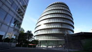 Stock Video Footage of City Hall London United Kingdom