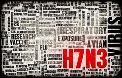 h7n3 - stock illustration