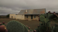 Stock Video Footage of Farmhouse,Karoo