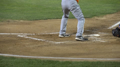 Baseball Batter, Hitting, Players, Game, Sports Stock Footage