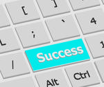 Stock Illustration of success enter key