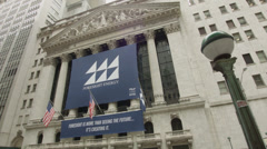 Foresight Energy on the New York Stock Exchange Stock Footage