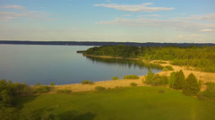 Upper bavaria, lake starnberg Stock Footage