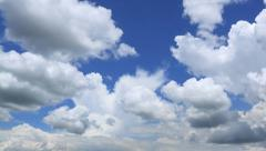 Moving clouds time lapse Stock Footage