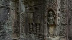 Quiet temple slider timelapse 4K Stock Footage