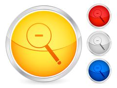 Zoom out button Stock Illustration