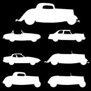 Old cars Piirros