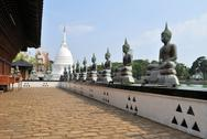 Stock Photo of Famous Lake Temple Landmark in Colombo, Sri Lanka