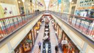 Stock Video Footage of 4k timelapse video of people shopping in Adelaide Arcade