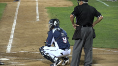 Baseball Catcher, Players, Team, Sports Stock Footage