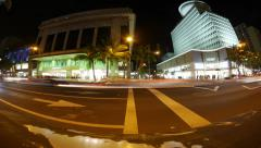 Kalakaua at Royal Hawaiian Stock Footage