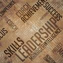 Stock Illustration of Leadership Background - Grunge Wordcloud Concept.