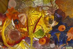 Glass art. Stock Photos