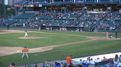 Baseball Field, Ball Park, Stadium, 2D, 3D Stock Footage