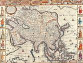 Stock Illustration of map of asia