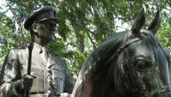 British Field Marshal Dill memorial | Arlington National Cemetery Stock Footage