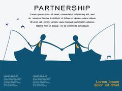 Partnership Stock Illustration