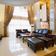 The luxury living room Stock Photos