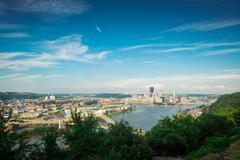 View of Pittsburgh Kuvituskuvat