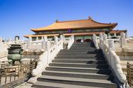 Stock Photo of the hall of supreme harmony in forbidden city