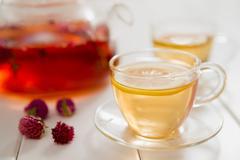 tea and teatime - stock photo