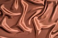 Stock Photo of silk cloth with chocolate color
