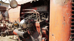 Old Tractor 2 - stock footage
