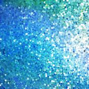 Glitters on a soft blurred background. EPS 10 Stock Illustration