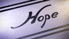 """""""Hope"""". looping. Stock Footage"""