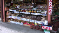 Stock Video Footage of Food stall in Cyprus