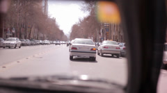 Traffic in Iran Stock Footage