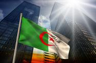 Stock Illustration of Algeria national flag
