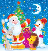 Merry Christmas - stock illustration