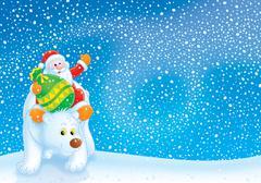 Santa Claus - stock illustration