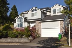 Large family home gresham oregon. Stock Photos