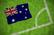 Stock Illustration of Australia national flag