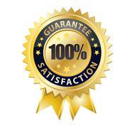 100 guarantee Stock Illustration