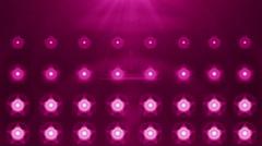 purple spotlight flash lighting bulb - stock footage