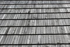 wooden house-top in western ukraine - stock photo