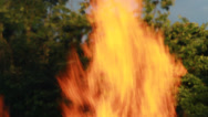 Stock Video Footage of Big Fire Elements - BoneFire 6