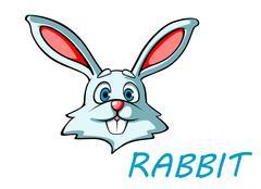 Stock Illustration of funny cartoon rabbit or hare