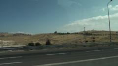 Judaic desert Stock Footage