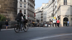 Paris St George 2 Stock Footage