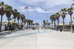 Venice beach plaza los angeles Stock Photos